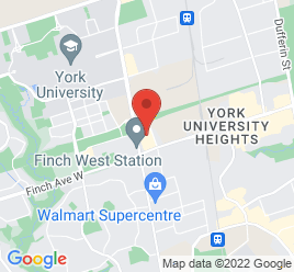 Google Map of 1290+Finch+Avenue+West+Unit+8%2CToronto%2COntario+M3J+3K3